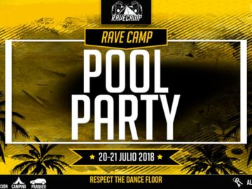 pool party rave camp