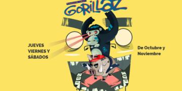 gorillaz laser